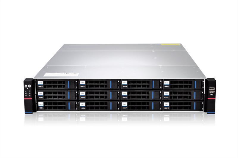 双路控制器服务器存储准系统-SY201-D12REH